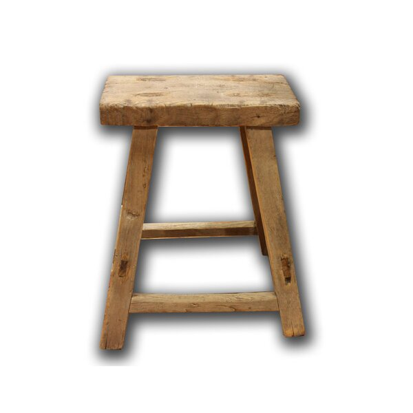 Elm Accent Stool by Asian Loft