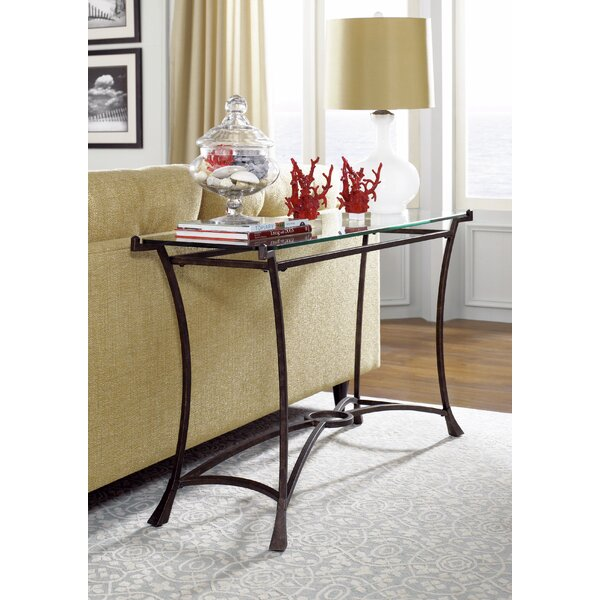 Breakwater Bay Glass Console Tables