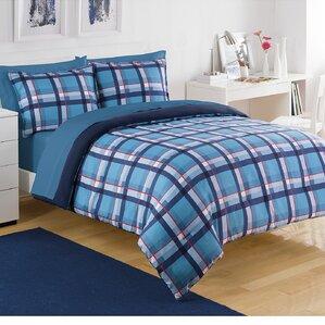 par plaid comforter set - Plaid Comforter