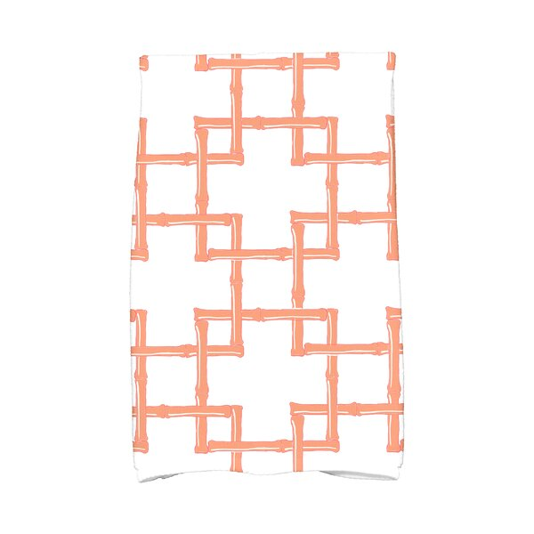 Sigsbee Bamboo Print Hand Towel by Bay Isle Home