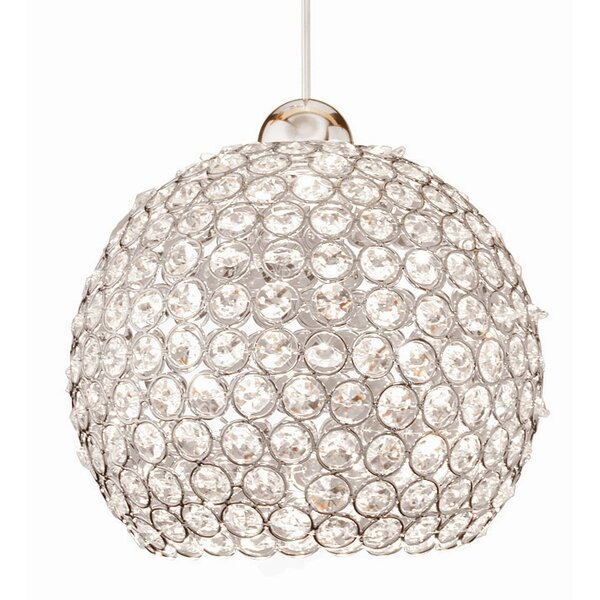 Crystal Roxy 1-Light Crystal Pendant by WAC Lighti