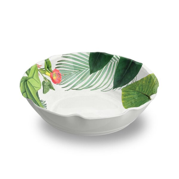 Orient 27 oz. Floral Pasta Bowl (Set of 6) by Beachcrest Home