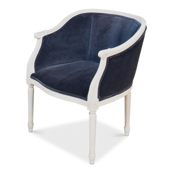 Pull Barrel Chair by Sarreid Ltd