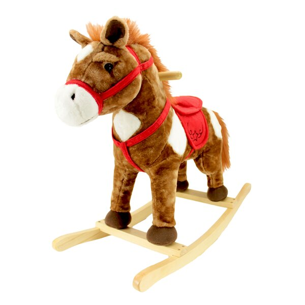 Chestnut Horse Rocker by Animal Adventure