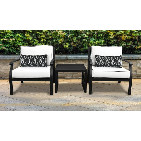 Madison 3 Piece Sectional Seating Group with Cushions