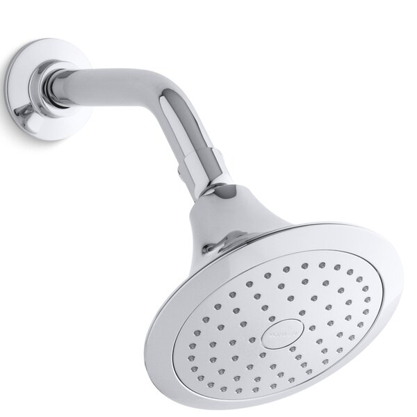 Forté 2.5 GPM Single-Function Wall-Mount Shower Head with Katalyst Air-Induction Spray by Kohler