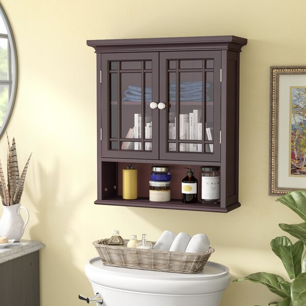 Bewley 22 W x 24 H Wall Mounted Cabinet by Three Posts