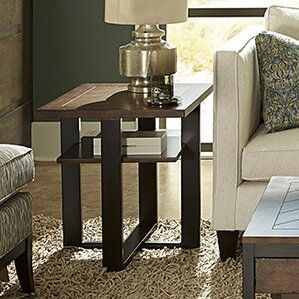 Huntsberry Rectangular End Table by Brayden ..