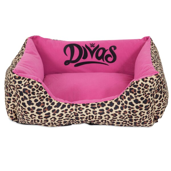 Divas Rectangular Bolster Dog Bed by WWE