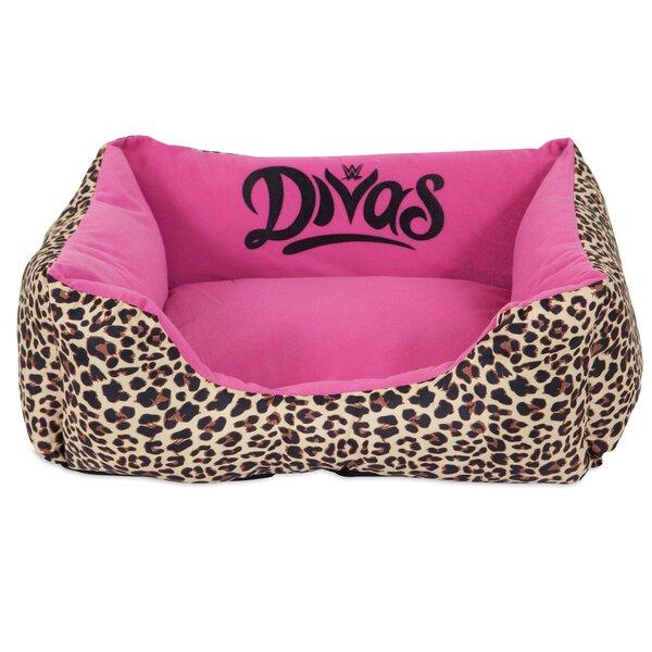 Divas Rectangular Bolster Dog Bed by WWE