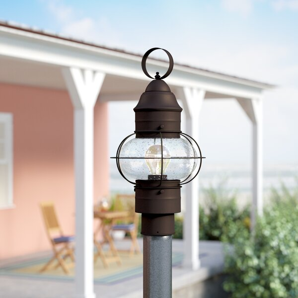 Chevalier 1-Light Lantern Head by Beachcrest Home