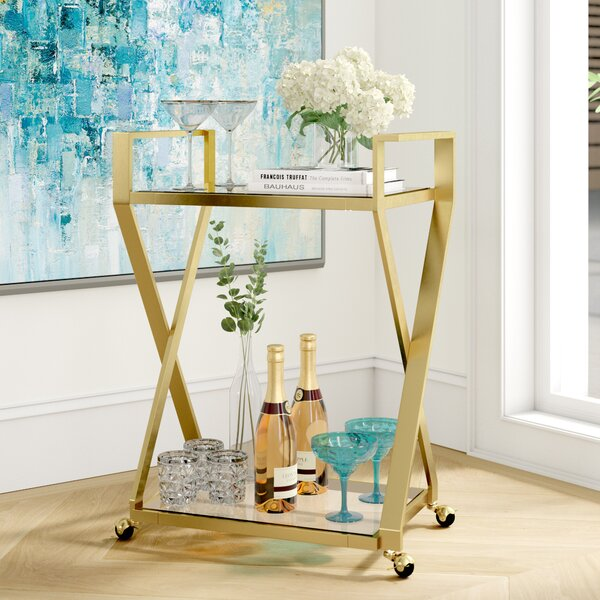 Edgewood Bar Cart By Mercer41 2019 Sale