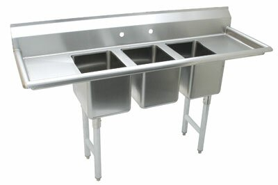 Free Standing Service Sink by Advance Tabco