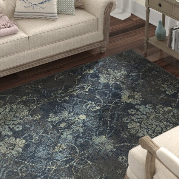 Charroux Tibetan Gray Area Rug by Lark Manor