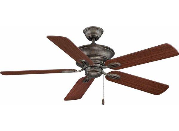 52 Rainier 5-Blade Ceiling Fan by Volume Lighting