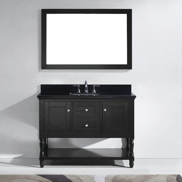 Cicely 49 Single Bathroom Vanity Set with Mirror by Gracie Oaks