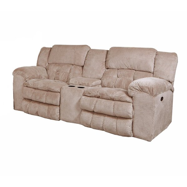 Limited Time Henning Motion Reclining Loveseat by Simmons Upholstery by Darby Home Co by Darby Home Co