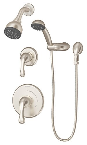 Unity Pressure Balanced Diverter Handheld Shower Head Complete Shower System by Symmons