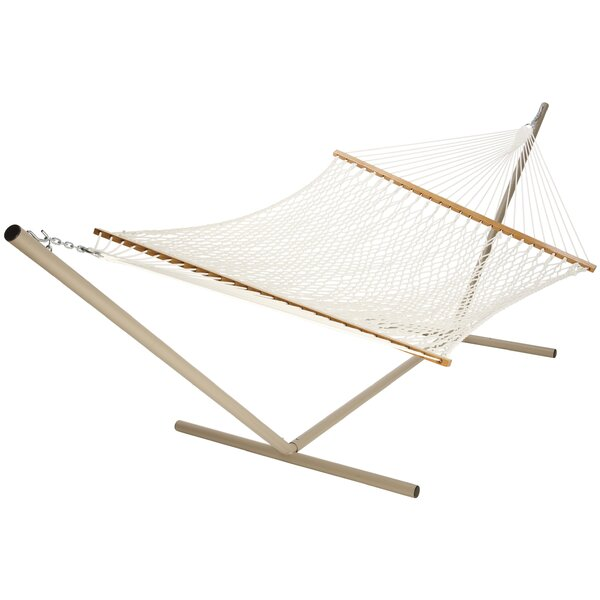 Halford Polyester Rope Hammock by Highland Dunes