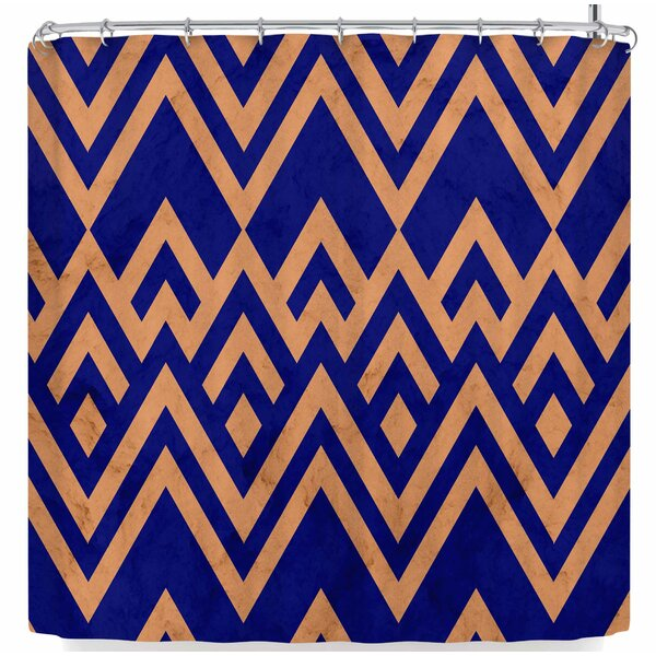 Tobe Fonseca Pines Vintage Shower Curtain by East Urban Home