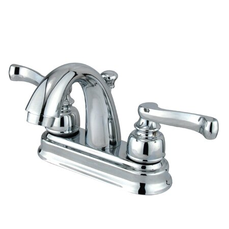 Vintage Centerset Bathroom Faucet with ABS Pop-Up Drain by Kingston Brass