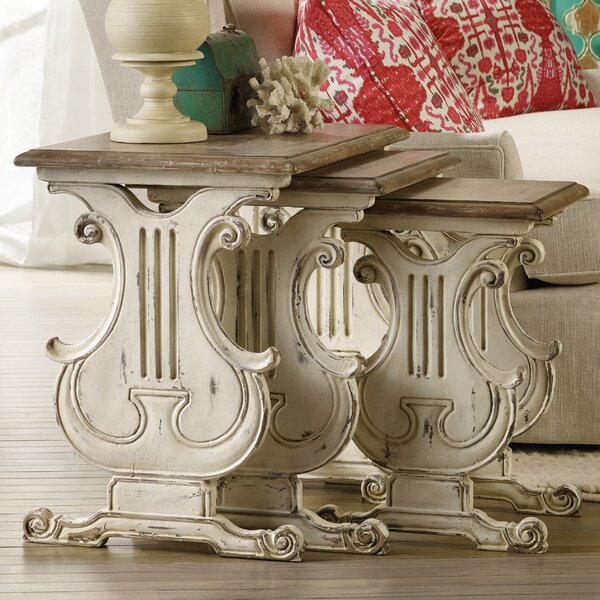 Sanctuary 3 Piece Nesting Tables by Hooker Furniture