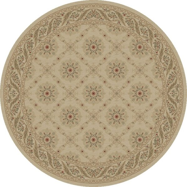 Bissonnette Ivory Aubusson Area Rug by Charlton Home