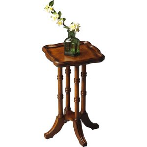 Bryan Square Scatter End Table in Distressed..
