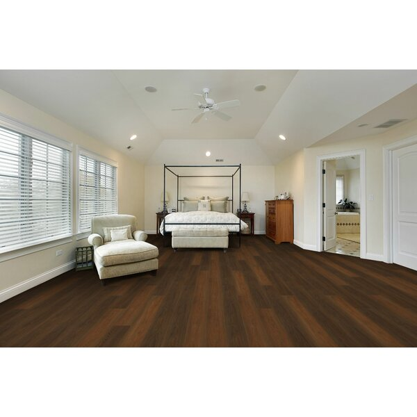 Saranac 7.5 x 51 x 12mm Tile Laminate Flooring in Farmington Oak by American Concepts