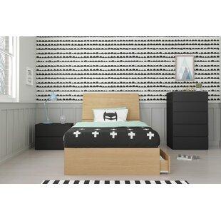 Lincolnton Twin Platform 4 Piece Bedroom Set ByEbern Designs
