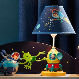 Savings Outer Space 14.5 Table Lamp By Fantasy Fields