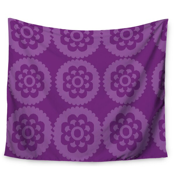 Moroccan Purple by Nicole Ketchum Wall Tapestry by East Urban Home