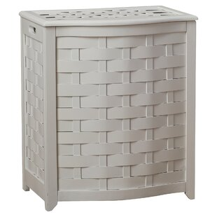 Bargain Bowed Front Laundry Hamper By Darby Home Co