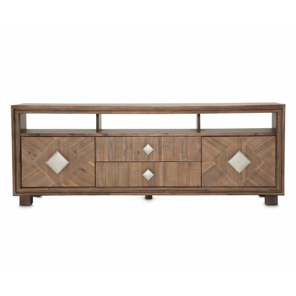 Review Gehlert Solid Wood TV Stand For TVs Up To 88