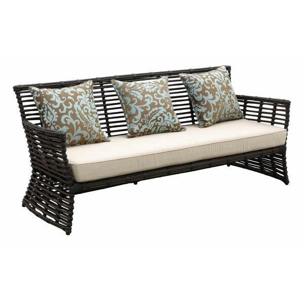 Venice Patio Sofa with Sunbrella Cushion by Sunset West Sunset West