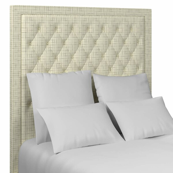 Stonington Tufted Upholstered Panel Headboard by Annie Selke Home