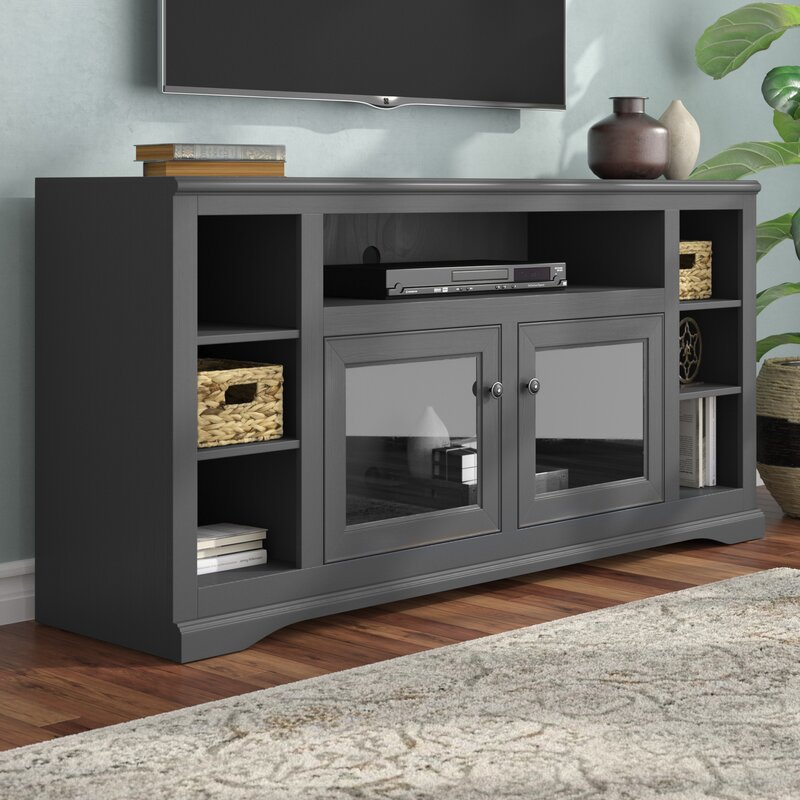 Wentzel Solid Wood Tv Stand For Tvs Up