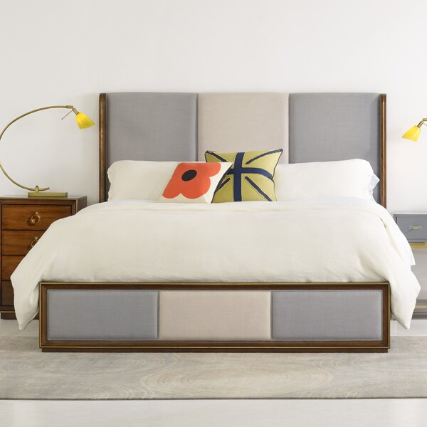 Swell Upholstered Panel Bed by Hooker Furniture
