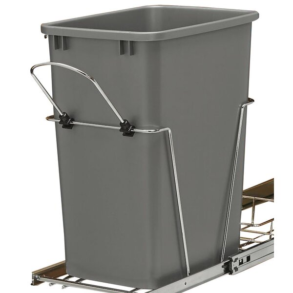 8.75 Gallon Open Pull Out Trash Can by Rev-A-Shelf