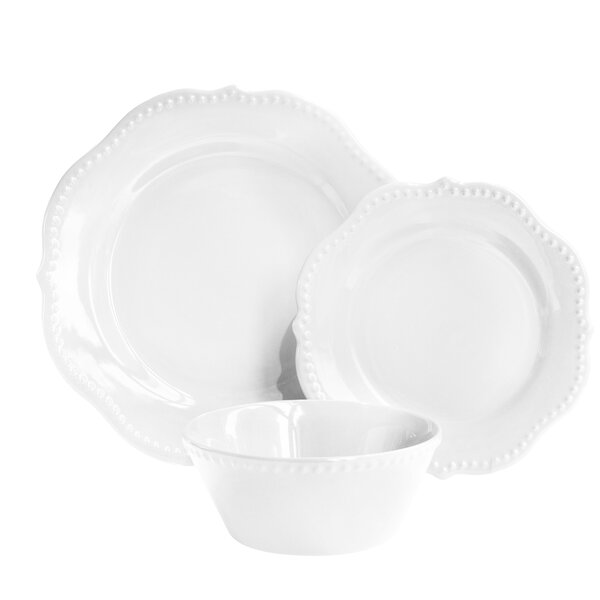 Cerrato 12 Piece Dinnerware Set, Service for 4 by House of Hampton