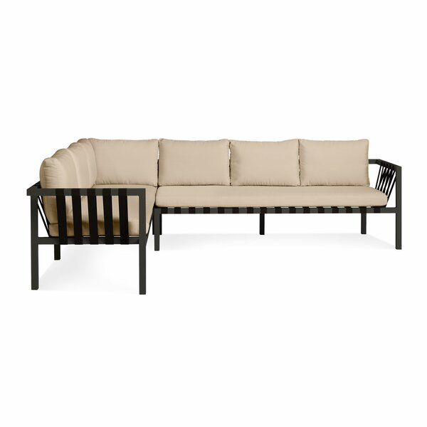 Jibe Patio Sectional with Cushions by Blu Dot