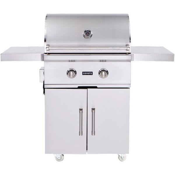 2-Burner Propane Gas Grill with Cabinet by Coyote Grills