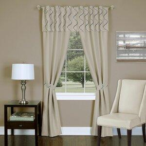 Mcgrath Solid Sheer Rod Pocket Curtain Panels
