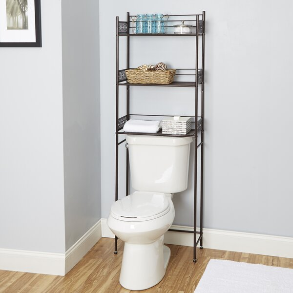Gillespie 22 W x 64 H Over the Toilet Storage by Bungalow Rose