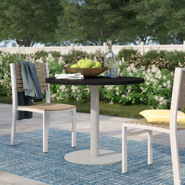Caspian Natural Granite Bistro Table By Sol 72 Outdoor