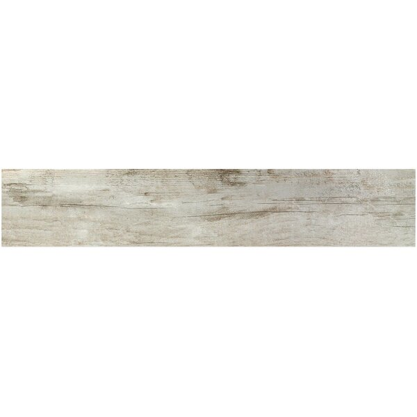 Ryan 9 x 46 Porcelain Wood Look Tile in Gris by Splashback Tile