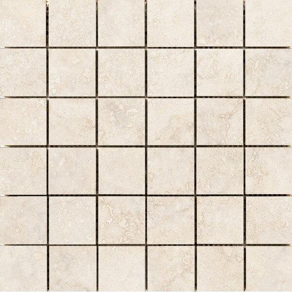 Costa 2 x 2 Ceramic Mosaic Tile in Sand by Emser Tile