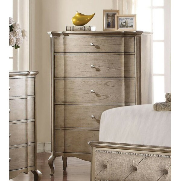 Vivienne 5 Drawer Chest by One Allium Way