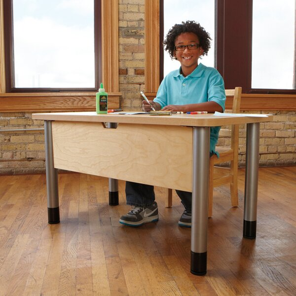 TrueModern 42 x 24 Rectangular Activity Table by Jonti-Craft