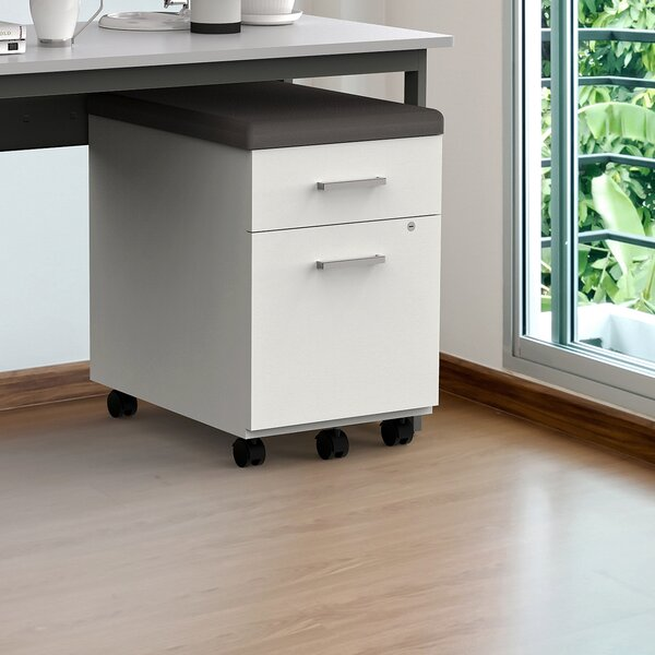 Flynt 2 Drawer Vertical Filing Cabinet